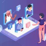 perfil das redes sociais