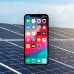 Apple usará energia fotovoltaica nos seus dispositivos.